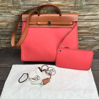Fast Sale Hermes Her Bag Bougenville 39 stamp M excellent condition (Reseller are Welcome)