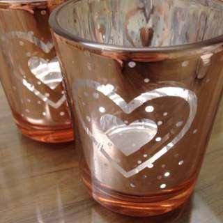 浪漫蠟燭杯