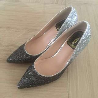 Bling-Bling High-heeled Shoes