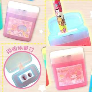 Last PcS Each Little Twin Stars My Melody Pencil Sharpener