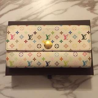 Lv Long wallet 村上隆
