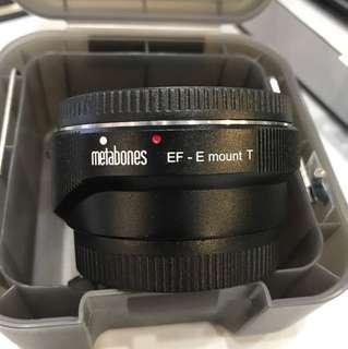 Metabones Canon EF to SONY E mount adapter AUTOFOCUS VER.4