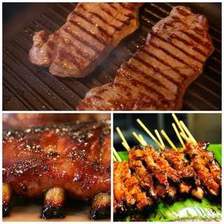 Multi Grill Pan Griller Alat Panggang Sosis Daging Tanpa Arang MURAH