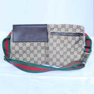 Gucci Original GG Canvas Belt Bag Original