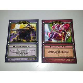 Collectible Cards SET - League of Legends, Duel Master, Digimon