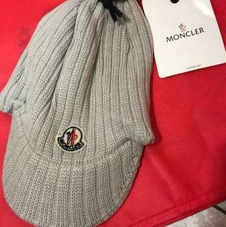 Moncler 針織棒球帽