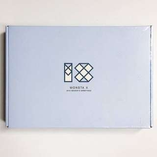 [sealed] MONSTA X - Season Greeting 2018
