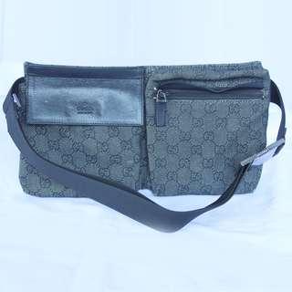 Gucci Original GG Canvas Belt Bag Original black