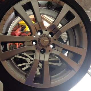 Mercedes 4 Tyers
