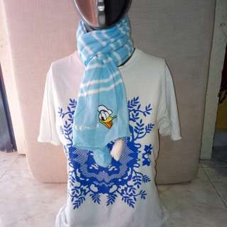 Winter scarf Donald duck😍