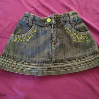 preloved Disney Skirt