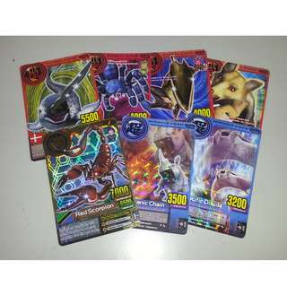 Collectible Cards SET - Dinosaur Cards Used in Arcades