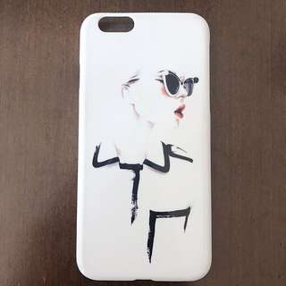 Casing Iphone 6 girl sketch