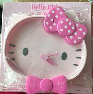 BN Authentic Sanrio Original Hello Kitty die cut Wall Clock