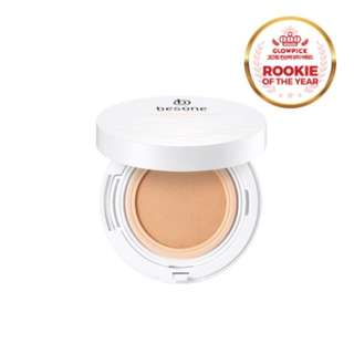 Besone Peach à Milk Mesh Cushion Foundation SPF37 PA++ (15g) - (#21 Light Beige)