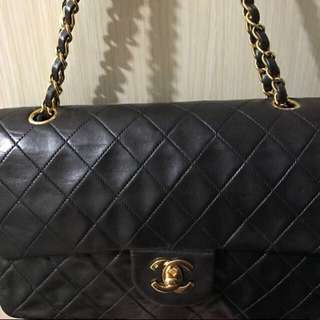 Chanel double chain bag vintage