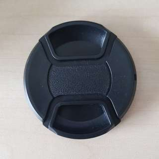 62mm and 67mm lens cap