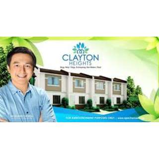 Clayton Heights San Mateo Rizal Affordable Townhouse