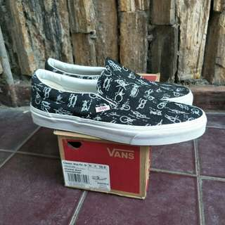 Vans slip on shackle black original
