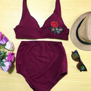 Highwaist Swimwear Set