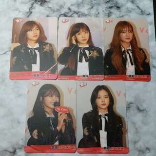 APINK Yescard 普通卡