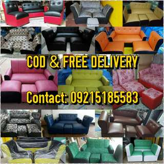 Sofa Set FACTORY SALE ALL IN ₽6000