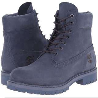 NAVY BLUE TIMBERLANDS