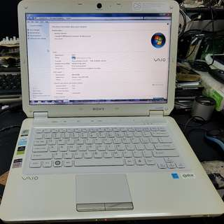 Sony Laptop VGA-CS23G-W
