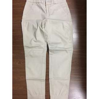 Mango Basics womens pants jeans slacks US 1 EUR 32 beige