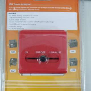 High speed travel adapter