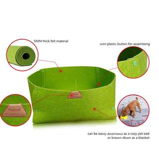 Nice and comfortable FELT BED for your pets