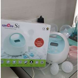 Spectra S1 (Only Used 1 month, used less than 10 times, like new, foc mama milk tea, drying rack and milk storage)