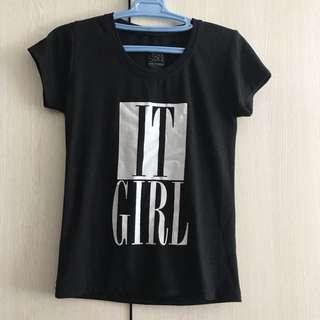 IT girl Print t-shirt