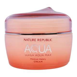Super Aqua Max Moisture Watery Cream (Nature Republic)
