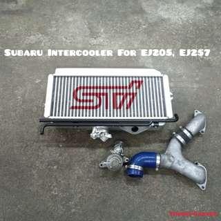 Subaru Intercooler With BOV