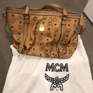 Authentic MCM bag for sale