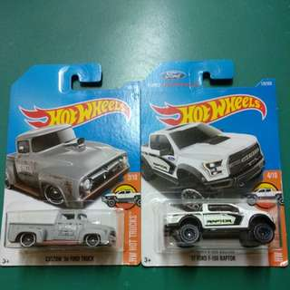 HotWheels Ford Truck Edition - 2 Pieces
