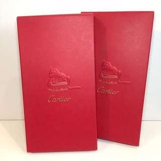 Cartier 利是封 兩盒 限量