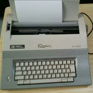 Used cheap SMITH CORONA electronic typewriter