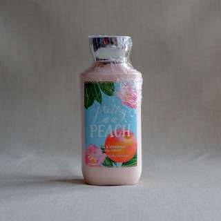 BATH & BODY WORKS Shea & Vitamin E Body Lotion, Pretty as A Peach, 236ml
