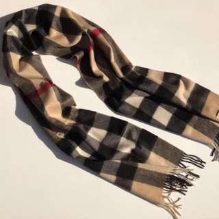 Burberry scarf!100% original!100% cashmere