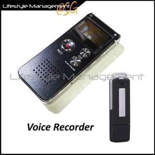 Digital Voice Recorder Sound/Secret USB Thumbdrive Sound Record