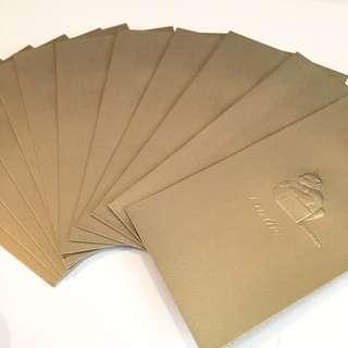 (臨近新年減價)Cartier 利是封 限量 散裝