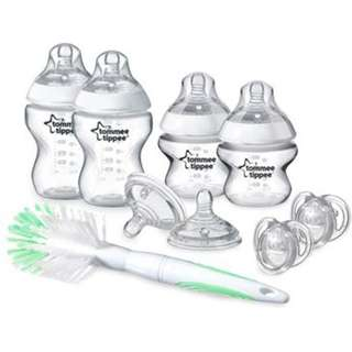Tommee Tippee Closer To Nature (New Born Starter Set/Kit)