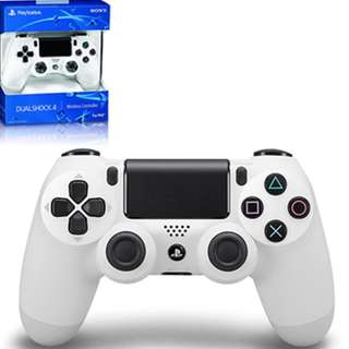 BRAND NEW Sony Glacier White Authentic PlayStation 4 PS4 Wireless Controller Play Station For Console Fat Slim Pro
