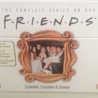 Friends TV series DVD Box