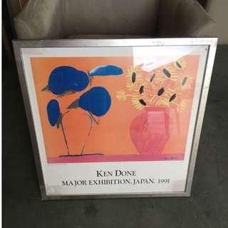 二手家具全省收購(大台北冠均 泰山店)二手貨中心--花卉畫作 掛畫 歡迎您親自來鑑賞093034