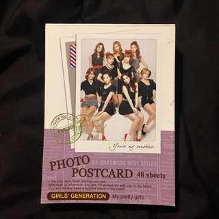 SNSD Photo Postcard OT9