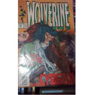 RARE Pre-owned Comic Book - WOLVERINE no. 80
