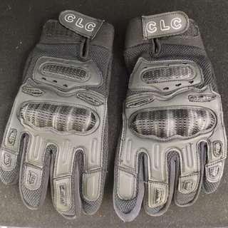 Riding glove size L